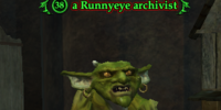 A Runnyeye archivist