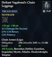 Defiant Vagabond's Chain Leggings