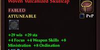 Woven Vulcanized Skullcap