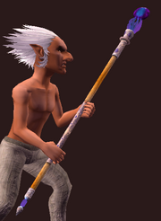 Battlement Battalion 623 Spellbinder's Staff (Equipped)