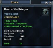 Hood of the Betrayer