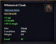 Whimsical Cloak