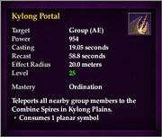 Kylong Portal