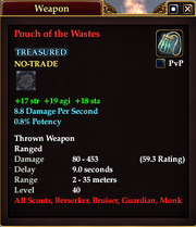 Pouch of the Wastes
