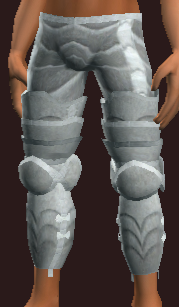 Reverent Curate's Plate Greaves (Equipped)