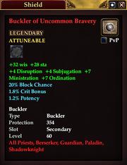 Buckler of Uncommon Bravery
