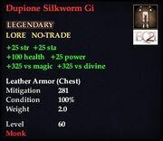 Dupione Silkworm Gi