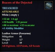 Bracers of the Dejected