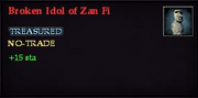 Broken Idol of Zan Fi