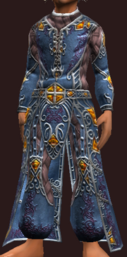 Vesspyr Scholar's Blue Robe (Equipped)