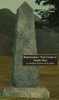 Bootstrutter's Trail Guide to South Mist