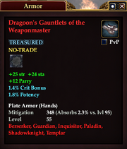 Dragoon's Gauntlets of the Weaponmaster