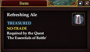 Refreshing Ale (Item)
