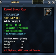 Rotted Snout Cap