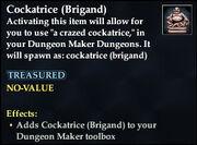 Cockatrice (Brigand)