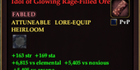 Idol of Glowing Rage-Filled Ore