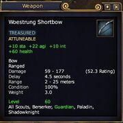 Woestrung Shortbow