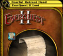 Fearful Retreat Deed