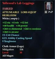 Yallessul's Lab Leggings