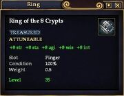 Ring of the 8 Crypts