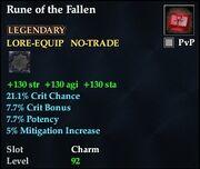 Rune of the Fallen