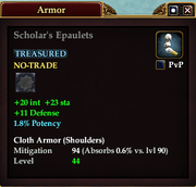 Scholar's Epaulets