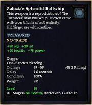 Zatozia's Splendid Bullwhip