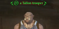 A Tallon trooper