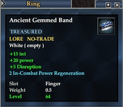 Ancient Gemmed Band