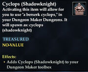 Cyclops (Shadowknight)