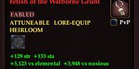 Fetish of the Warborne Grunt
