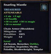 Snarling Mantle