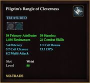 Pilgrim's Bangle of Cleverness