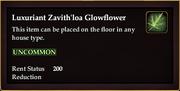 Luxuriant Zavith'loa Glowflower