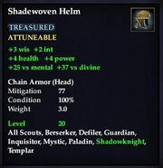 Shadewoven Helm