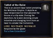 Tablet of the Ruler