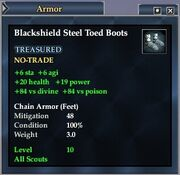 Blackshield Steel Toed Boots
