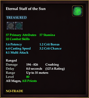 Eternal Staff of the Sun