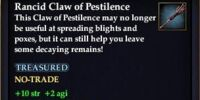 Rancid Claw of Pestilence