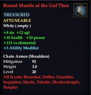 Runed Mantle of the Gul'Thex