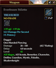Everfrozen Stiletto