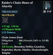 Raider's Chain Shoes of Alacrity