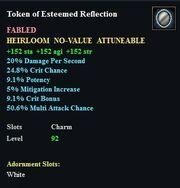 Token of Esteemed Reflection