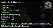 Brokentusk Gauntlets