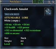 Clockwork Amulet