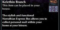 Norrathian Express Box, Kelethin Branch