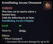 Scintillating Arcane Ornament