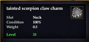 File:Tainted scorpion claw charm.jpg