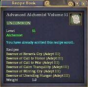 Advanced Alchemist Volume 51