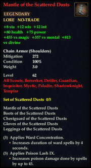 Mantle of the Scattered Dusts